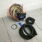 1955 - 1961 Dodge Coronet 8 Circuit Wire Harness Fits Painless Fuse Complete