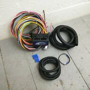 1960 - 1987 Chevy Truck 8 Circuit Wire Harness Fits Painless Fuse Compact New