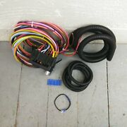 1967 - 1969 Firebird 8 Circuit Wire Harness Fits Painless Fuse Circuit Compact