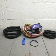 1966 - 1975 Ford Bronco 8 Circuit Wire Harness Fits Painless New Update Fuse