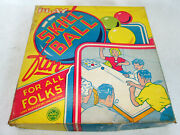Vintage 1940's Marx Play Skill Ball Table Top Game