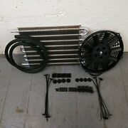 1978-88 Gm G-body Transmission Oil Cooler Electric Radiator Fan Kit Coupe Ss Rw