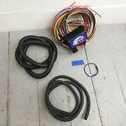 Wire Harness Fuse Block Upgrade Kit For 1964 - 1972 Gm A F Or X Body Hot Rod