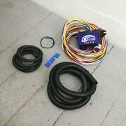 1952 - 1979 Triumph Ultra Pro Wire Harness System 12 Fuse Update Support Rat Rod