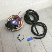 1988 - 1993 Cadillac Deville Ultra Pro Wire Harness System 12 Fuse Coded Hot Rod