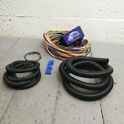 1952 - 1979 Mg / Austin Ultra Pro Wire Harness System 12 Fuse Update W/panel