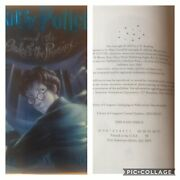 Harry Potter And The Order Of The Phoenix By J.k. Rowling 1st Edition 1st Printing