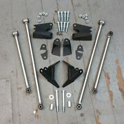 Stainless Steel Triangulated Full Size 4 Link Kit For 1966 - 1980 Cadillac