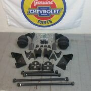 1953-1962 Chevy Triangulated Rear Suspension 4 Link Kit W/2600lb. Bags