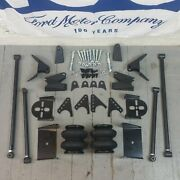 1960-1970 Ford Falcon Triangulated Rear Suspension Four 4 Link W/2600lb Bags