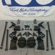 Rear Suspension Triangulated Four 4 Link Kit For 33-34 Ford W/2600lb. Bags