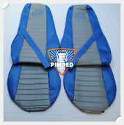 Truck Seat Covers Volvo Fh/fm 2002-2013 Blueandgrey Eco Leather Seat Covers