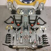 55-59 Chevy Truck Mustang Ii Coil-over Ifs Stock 6x5.5 Manual Lhd Rack