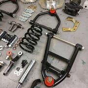 34-35 Chevy Standard Mustang Ii Coil-over Ifs Stock 5x5 Manual Rhd Rack