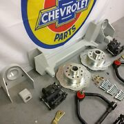 34-36 Chevy Master Mustang Ii Coil-over Ifs 2 Drop 5x5 Manual Rhd Rack