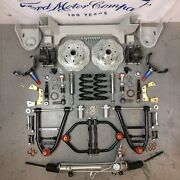 42-47 Ford Truck Coil-over Mustang Ii Ifs Stock 5x5.5 Power Lhd Rack Hot Rod