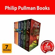 Philip Pullman Collection 7 Books Set His Dark Materials Trilogy Paperback New