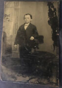Rare Ferrotype Of William Henry Mccarty - Billy The Kid Tintype Gold Ring