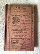 Batavia Ny 1923 City And Town Directory Includes East Pembroke Village