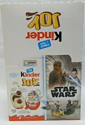 New Sealed Box Of 15 Kinder Joy Chocolate Eggs Star Wars - Surprise Toy Inside