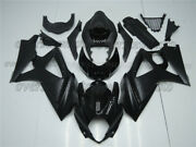 Injection Body Kit Fairing Fit For 07-08 Gsxr Gsx-r 1000 K7 Mold Abs Black Aav