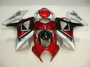 Injection Bodywork Red Black Silver Fairing Fit For Gsx-r 1000 K7 2007-2008 Aal