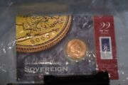 2000 Great Britain Gold Proof Full Sovereign Coin Sealed Directly From Mint