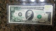 Front Overprint Error On 1985 10 Richmond Federal Reserve Note