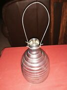 Vintage Beehive Glass Fly Catcher