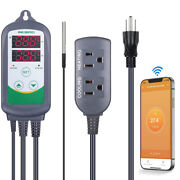 Wifi Thermostat Temperature Controller Itc-308 Seed Starter Brew Heater Cooler