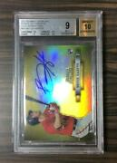 Mlb Card 2012 Bryce Harper Bowman Sterling Auto Gold Refractors 32/50 Rookie