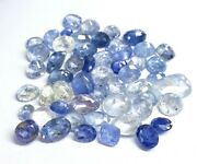 84.35cts Gtl Certified Natural Blue Sapphire Faceted Blue Sapphire Loos Gemstone