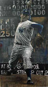Stephen Holland  Don Larsen The Perfect Game  Canvas Offer Dds