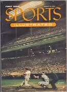 1954 Sports Illustrated 1 First Issue W/ Cards Still Intact + Original Mailer
