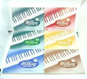 The Wilking Piano Method Books 1-7 Lot Instruction Lesson Songs Sheet Music 1943