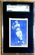 1933 Frank Frisch Hof Sgc 80 / 6 Ex / Nm Uncle Jackand039s Candy Incredibly Rare