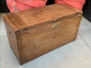 1850's Ancient Wood Rare Hand Crafted Indian Military Beautiful Old Tool Box