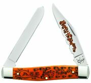 Case Halloween Knife 2015 Moose, 10554 New In Sealed Gift Tin