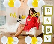 Baby Shower Decoration For Girl Or Boy Oh Baby Neutral Decoration Elegant Gold