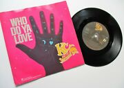 Kc And The Sunshine Band Who Do Ya Love C/w So Glad1978 Tk Records Demo Pic Sleeve
