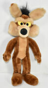 Vintage 1971 Mighty Star Wile E. Coyote Poseable Plush Warner Bros. Characters
