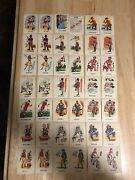 Vintage Miniature Old Maid Card Game Made In Hong Kong - 42 Cards