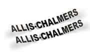 Allis-chalmers Decal Vinyl Sticker Set Of 2x Free Shipping