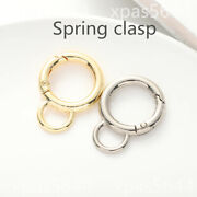 Multicolor Keychain 8-shaped Buckle Luggage Accessories Round Spring Buckle