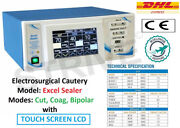400 Electrosurgical Unit Diathermy Machine Cautery Surgery Bipolar + Foot Switch