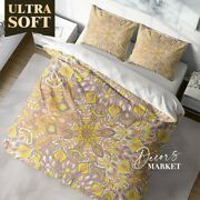 Indian Mandala Floral Patterns Quilt Cover Double Bed Single Queen King Size