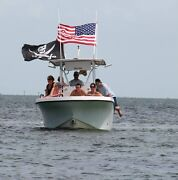 6and039 Boat Flagpole For Use In Rod Holders And Rocket Launchers