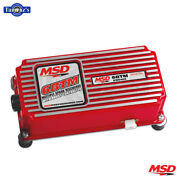 Msd 6-btm Boost Timing Master Control Module Red