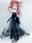 Ooak Monster High Handmade Outfit Repainted Face Hair Reroot Spectra C.a. Cupid