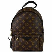 Louis Vuitton Palm Springs Pm Monogram Canvas Backpack Brown